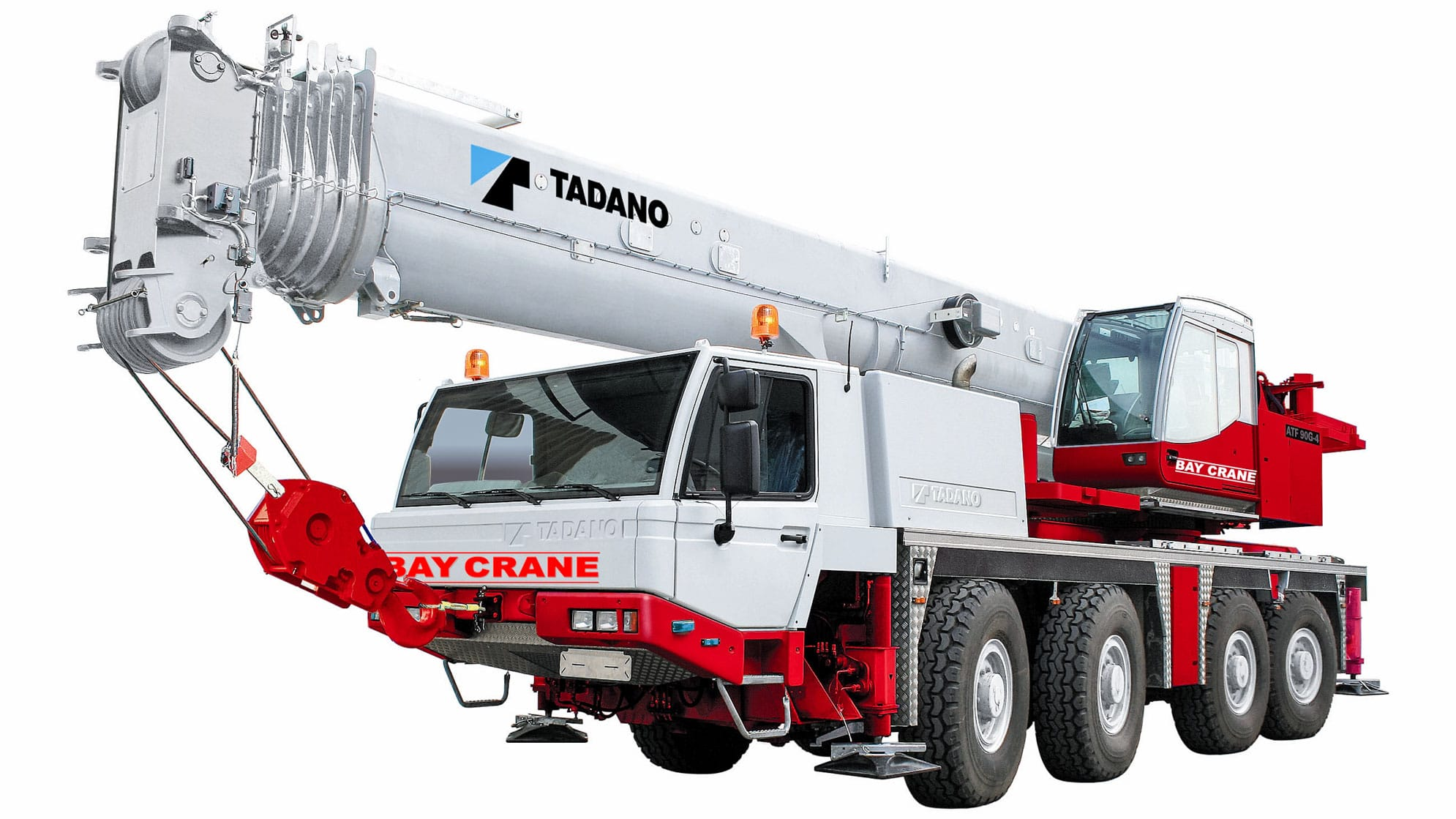 ATF 650 XL all terrain crane with a hydraulic expandable