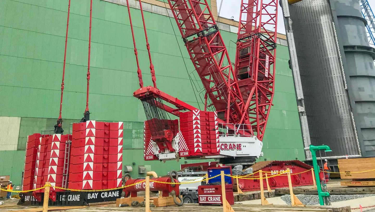 Crane lifting supplies