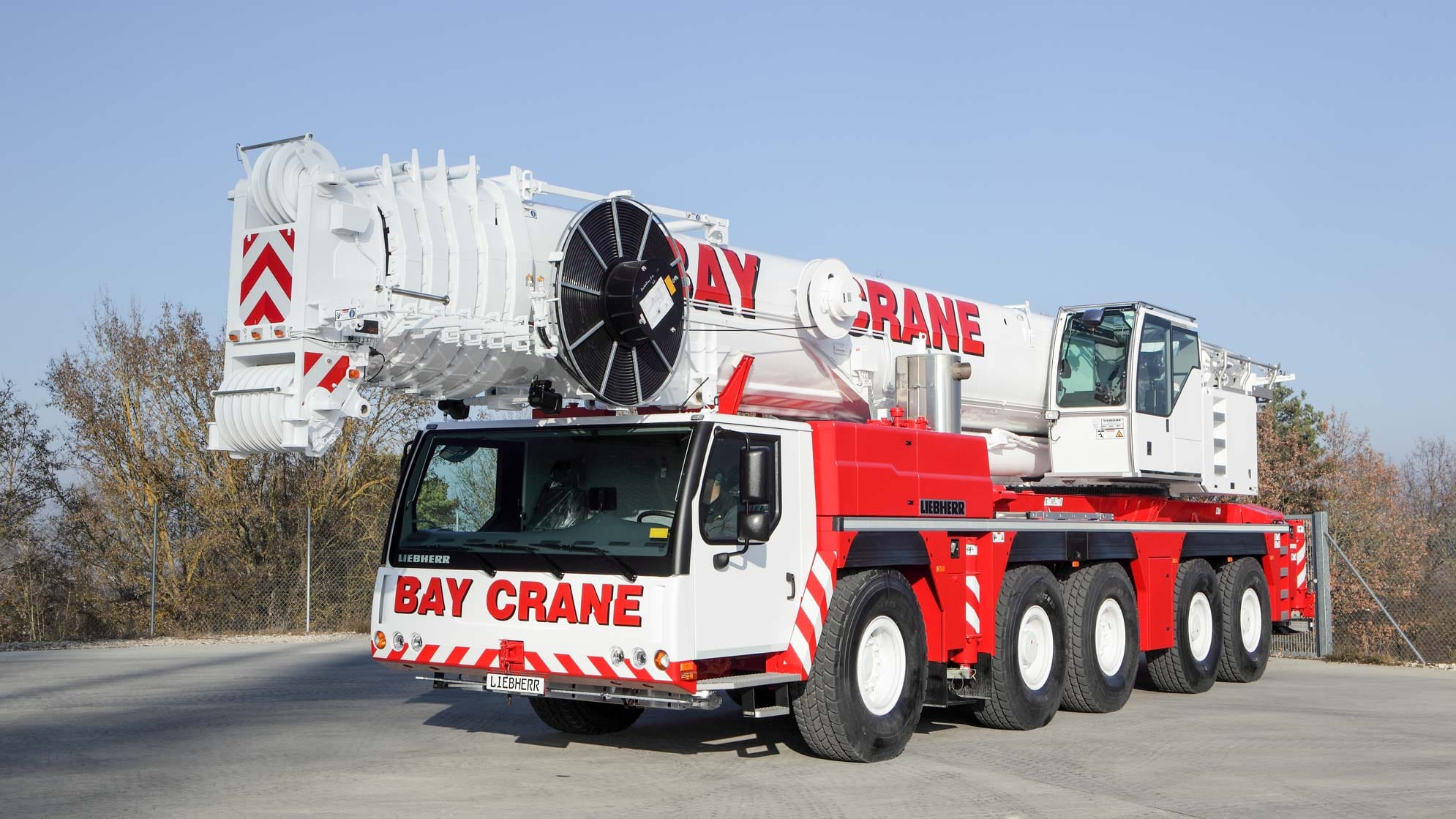 LTM 1200/1 all terrain crane with a hydraulic expandable