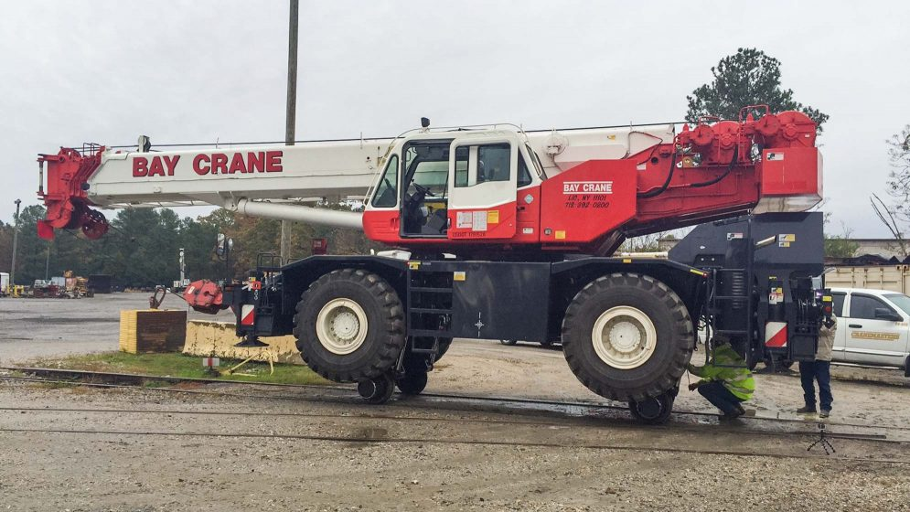 45 Ton Crane Rentals in NY, NJ, CT, RI & MA - Bay Crane