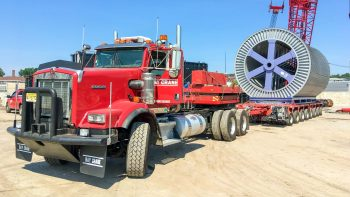Hydraulic Trailer transporting equipment
